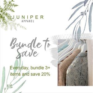 SAVE 20% on 3 or more items in a bundle!